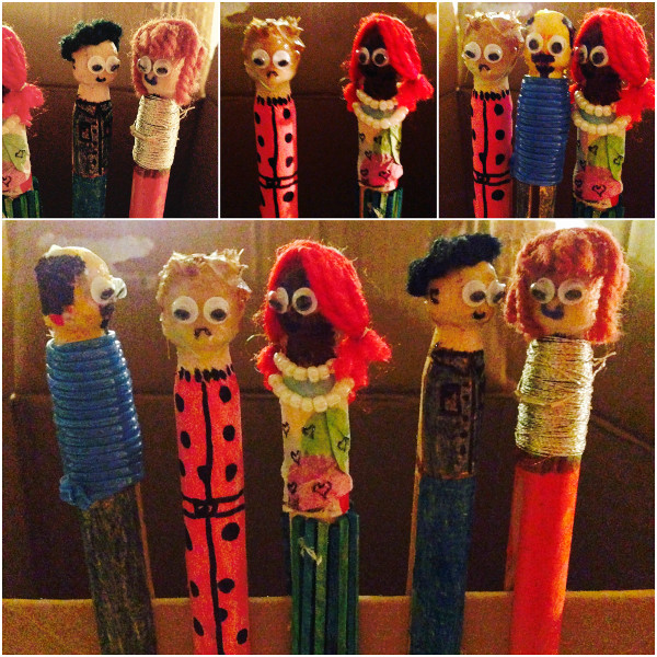 Make Your Own Guatemalan Worry Dolls Think Crafts By Createforless