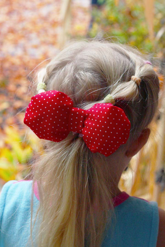 Sew up a statement bow in any size with a fun tutorial!