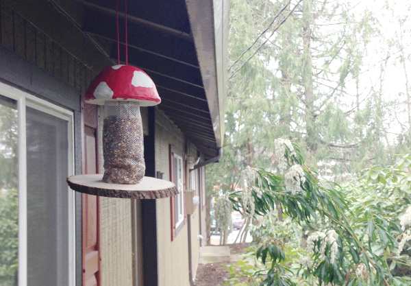 Toadstool Bird Feeder Think Crafts By Createforless