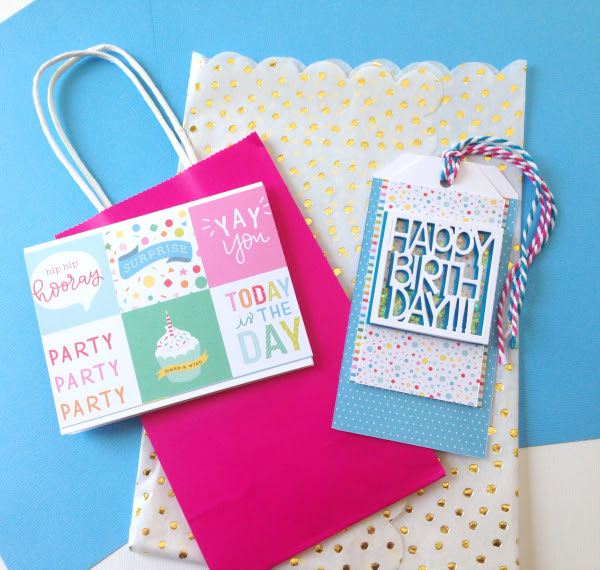 Easy Kids Birthday Card And Tag Set Think Crafts By Createforless
